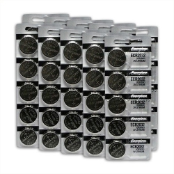 CR2032 Coin Cell Batteries (50 Pack)