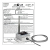 Industrial Wireless Temperature Sensor With Probe - NIST Certified